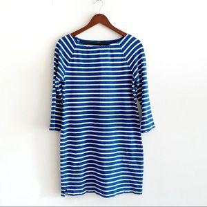 Gap Perfect Cotton Striped Dress
